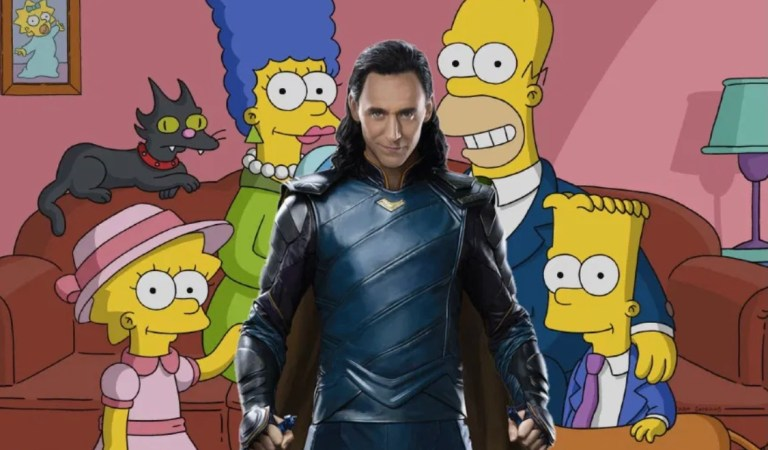 Loki viajará a Springfield para protagonizar cortometraje de Los Simpsons 🎞💻