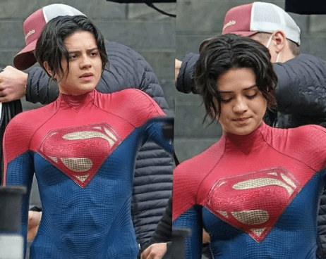 The Flash: Supergirl «vuela» en unas breves imágenes del rodaje