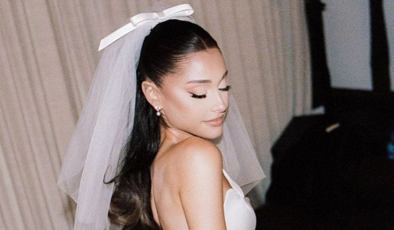 Peculiar: Ariana Grande recibió un nuevo regalo de bodas 😮😍