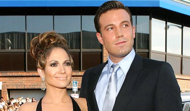 ¿Qué más se necesita para confirmar este amor? Jennifer Lopez y Ben Affleck posaron juntos por primera vez