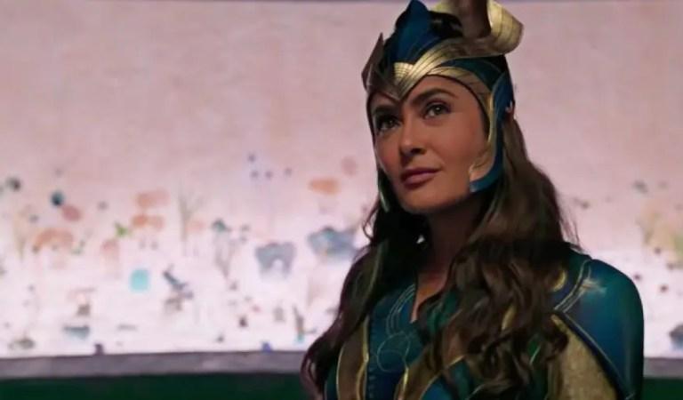 Salma Hayek explica por qué rechazó inicialmente el papel de Eternals