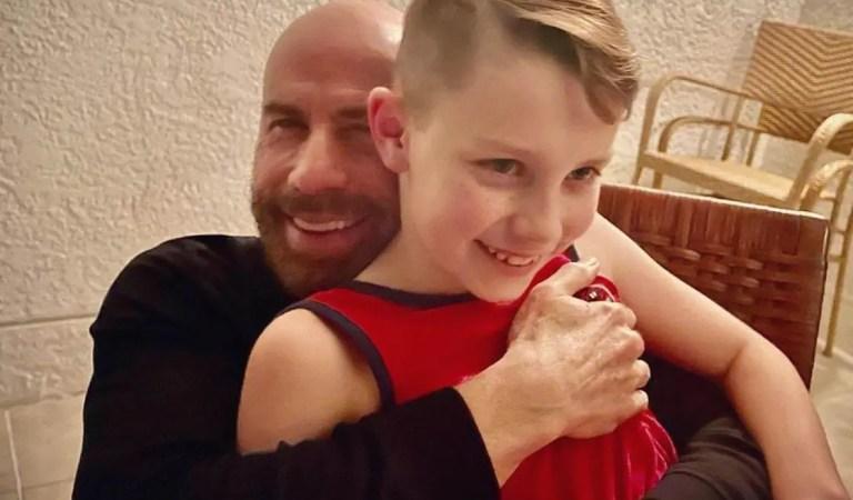 Fuerte… Luego de perder a su madre, el hijo de John Travolta teme perderlo a él también