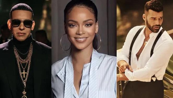 """Daddy Yankee y Ricky Martin cantarán en el """"Savage x Fenty Show"""" de Rihanna"""