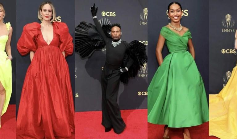 Premios Emmy 2021: Mejores y peores vestidos de la alfombra roja 👗📸