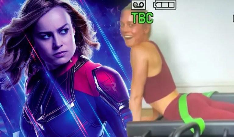 Brie Larson sube un video estilo vintage de su entrenamiento para Capitana Marvel 2