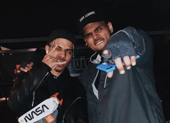"""Rauw Alejandro y Chris Brown estrenaron """"Nostálgico"""", junto a Rvssian 🔥🎶"""