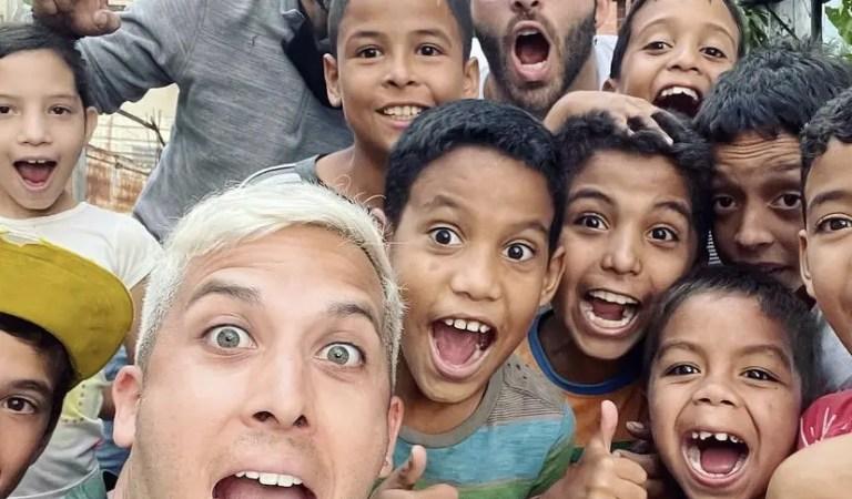 Alex Tienda creó un complejo deportivo para los niños en Petare 🏀⚽️