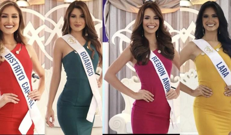 Candidatas del Miss Venezuela 2021 tuvieron su entrevista con el jurado 🗣👑