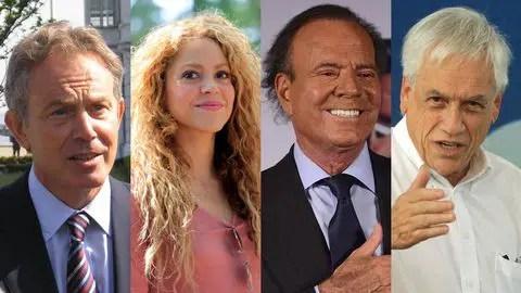 Papeles de Pandora: Shakira, Julio Iglesias y más artistas involucrados en paraísos fiscales 💰📑