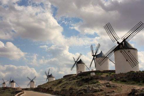 Molinos de Viento en el cerro Calderico (foto jjferia).
