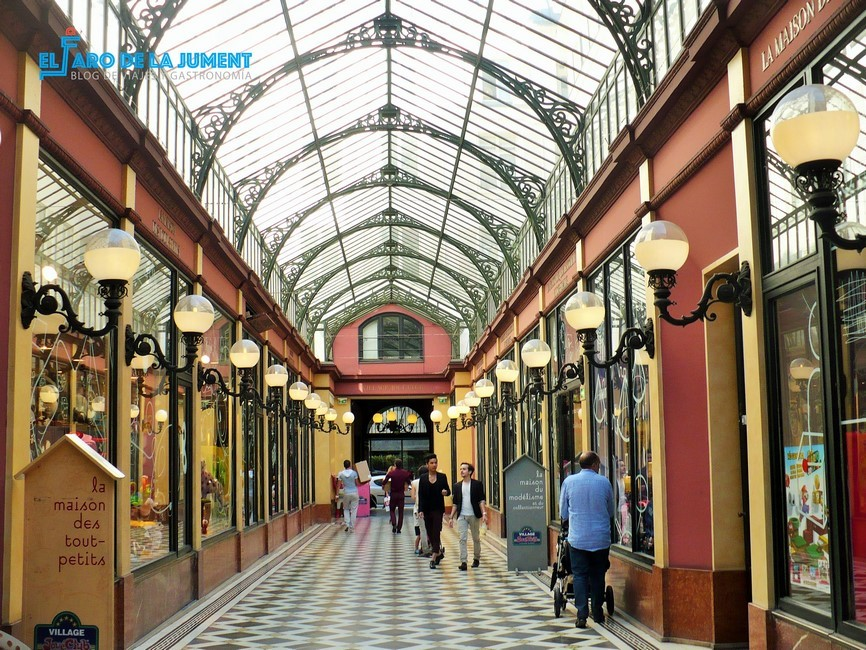 Galerias cubiertas Paris