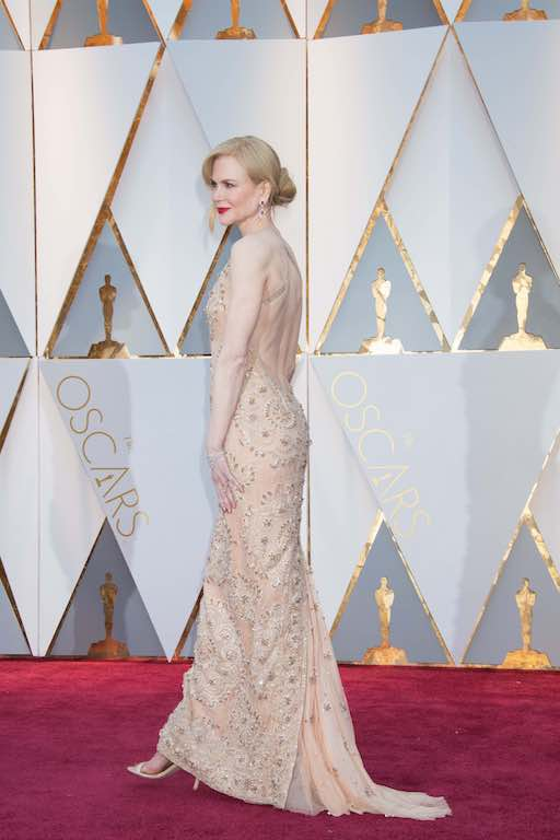 Nicole Kidman, Oscar® nominee, arrives on the red carpet of The 89th Oscars® at the Dolby® Theatre in Hollywood, CA on Sunday, February 26, 2017.