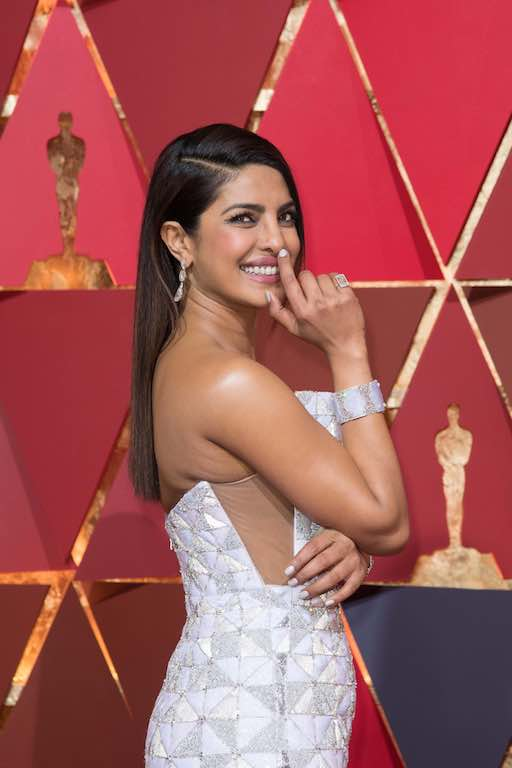Priyanka Chopra arrive on the red carpet of The 89th Oscars® at the Dolby® Theatre in Hollywood, CA on Sunday, February 26, 2017.