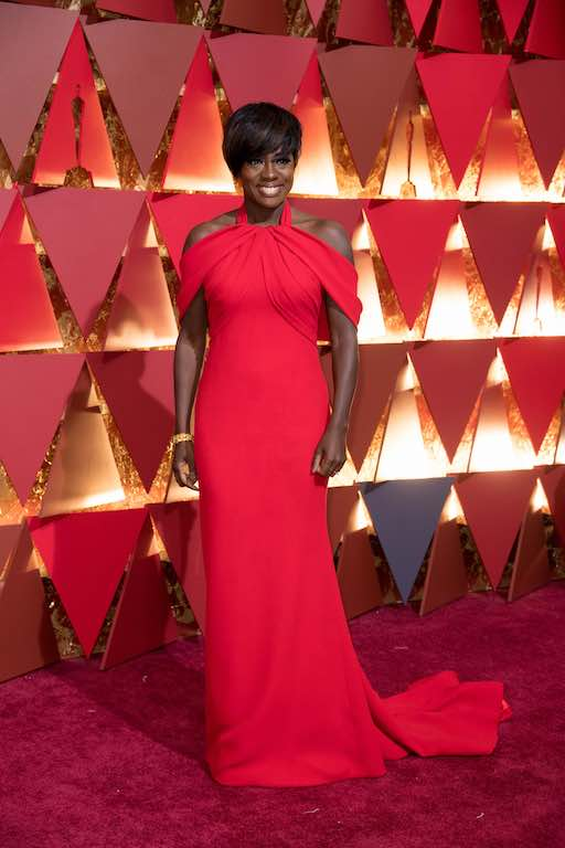 Viola Davis, Oscar® nominee, arrives on the red carpet of The 89th Oscars® at the Dolby® Theatre in Hollywood, CA on Sunday, February 26, 2017.