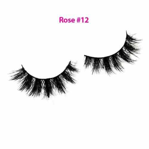Rose Lashes 12