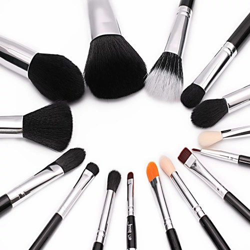 Jessup Essential Brushes Set Black Silver T092