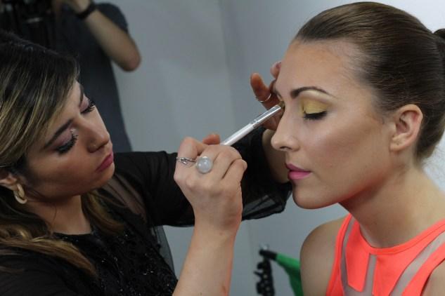 Makeup artist Antonia