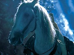 Asfaloth, interpretado por Florian