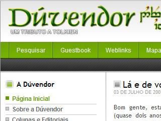 Novo layout Dúvendor