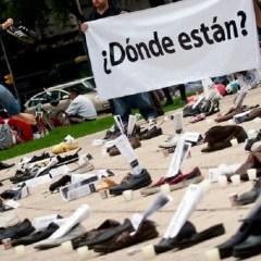 Registran más de 37 mil desapariciones en el país, cerca del 10 por ciento son forzadas