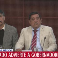 """""""Dejen de estar chillando"""" dice el senador de Morena, Félix Salgado"""