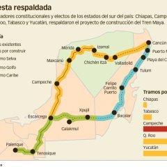 """Tren Maya, aún es una idea """"sin ruta definida"""""""