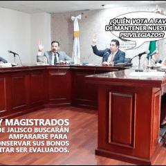 JUECES Y MAGISTRADOS SE AFERRAN A BONO Y RECHAZAN PRUEBAS DE CONFIANZA