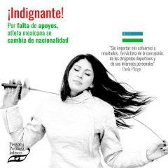 Por falta de apoyos, atleta mexicana se cambia de nacionalidad