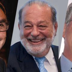 Slim, Azcárraga y Salinas Pliego ganan la licitación para proveer de internet a la 4T