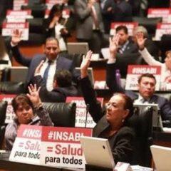 """Diputados de MORENA piden """"paciencia y comprensión"""" con el INSABI"""
