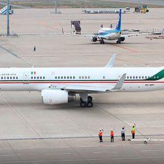 Avión Presidencial regresará a México; costó 30 Millones de Pesos resguardarlo en EE. UU.