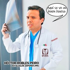 Cercanos a Héctor Robles Peiro encabezan IMSS Jalisco