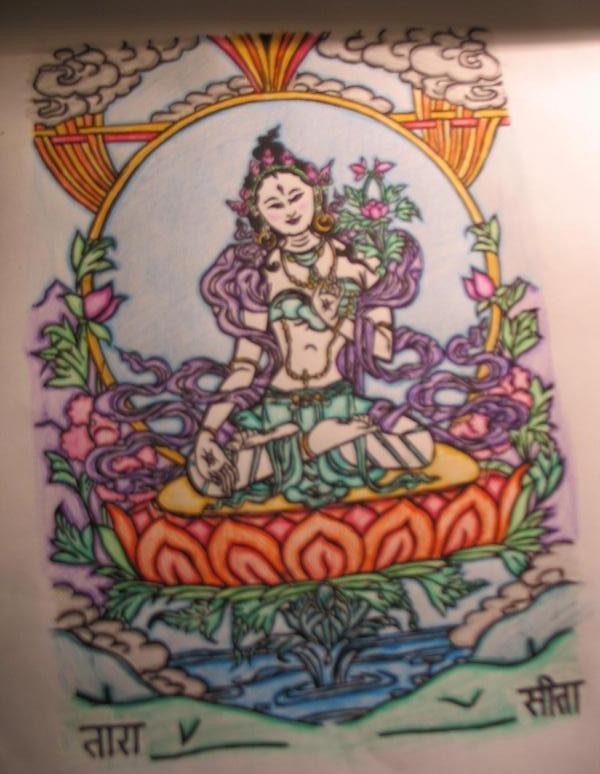 sitatara devotional colour