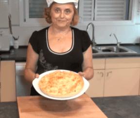 Aqui la receta de la quiche