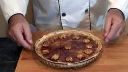 El forner y el pastel de Nueces y Coco