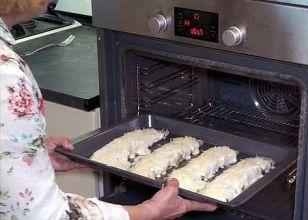 Crepes al horno
