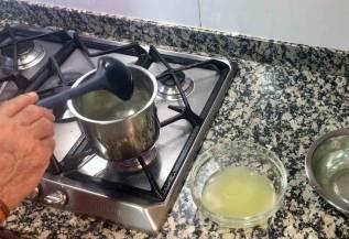 gelatina y jugo