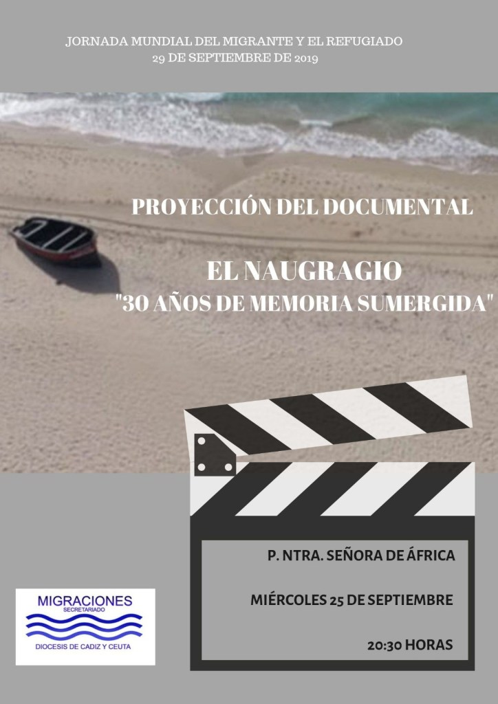 Cartel proyección documental