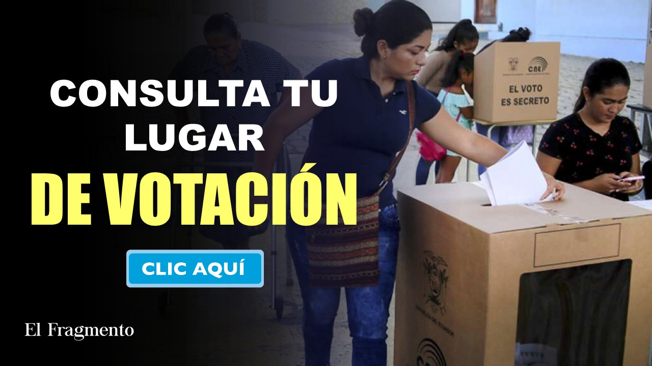 Consulta tu Lugar de Votación CNE