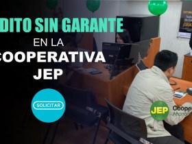 Crédito sin Garante en la Cooperativa JEP