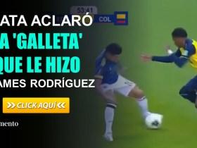 Gonzalo Plata aclaró la 'galleta' que le hizo a James Rodríguez