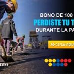 Bono de 100 USD si perdiste tu trabajo durante la pandemia