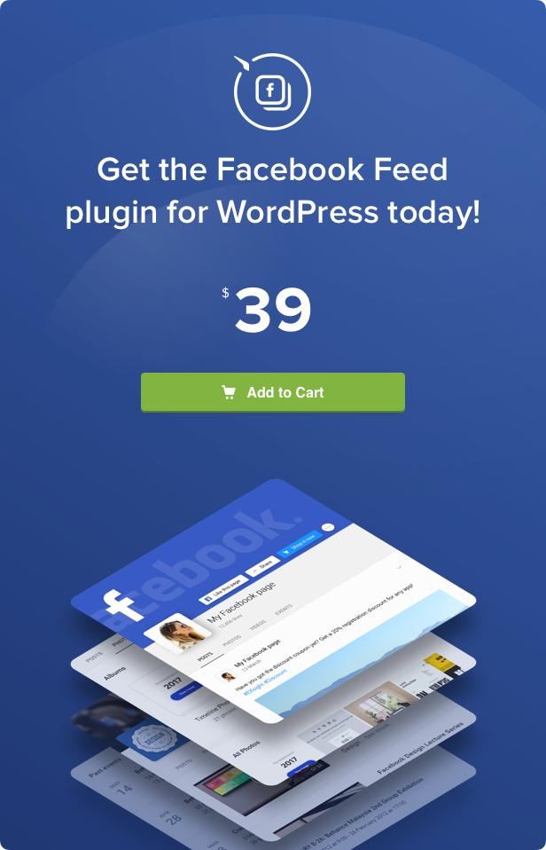 Facebook Feed – WordPress Facebook Plugin - 6