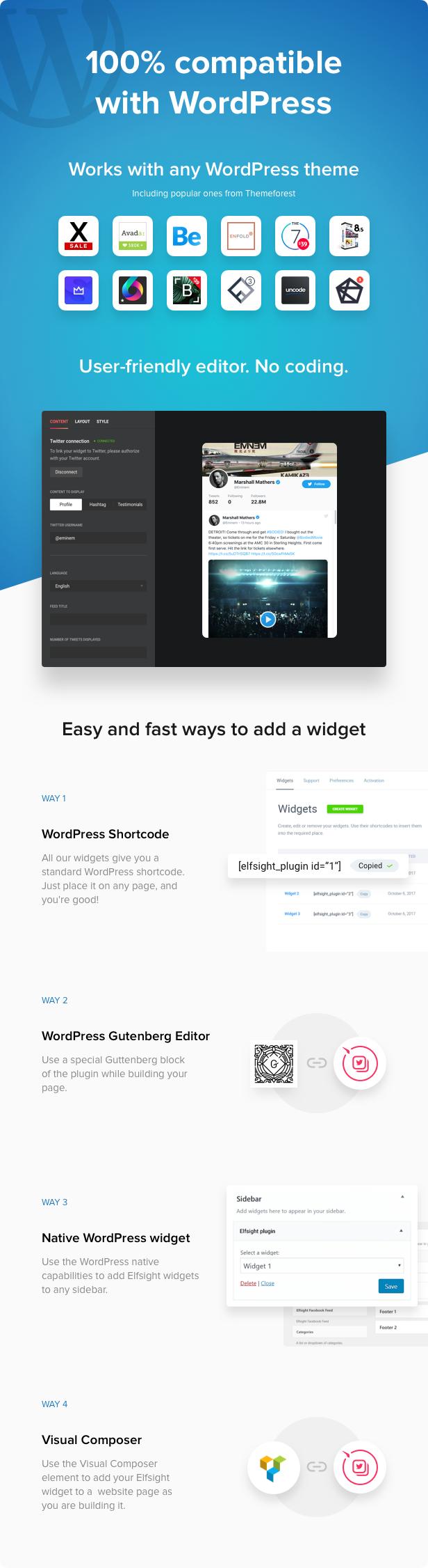 Twitter feed-WordPress plugin Twitter-2