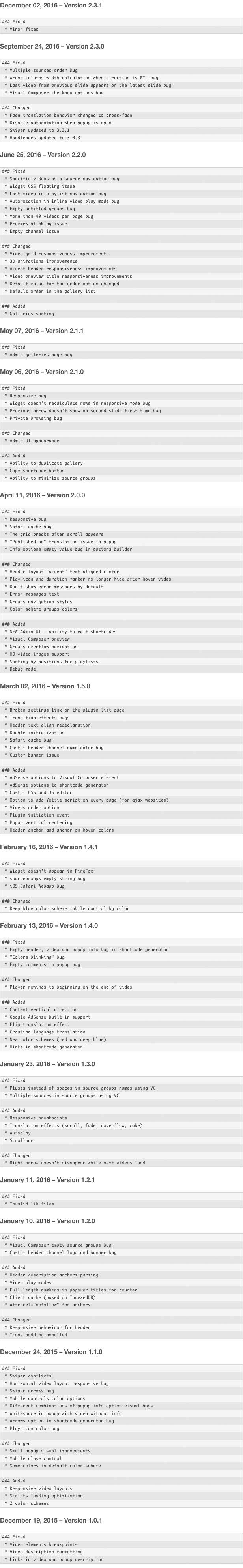 YouTube Plugin - WordPress Gallery for YouTube 22
