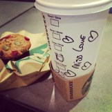 #starbucks helped me starting the day in a good way #3amwakeupcallalert