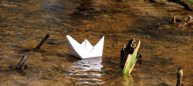 Весенние ручьи и кораблики