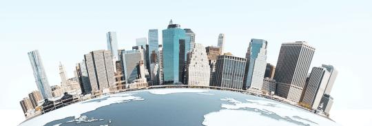 city-on-globe-illus-iStock-626522986