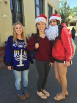 Hannukah and Christmas are friends at LG