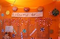 Juniors rocked their hallway design of Candy Land.